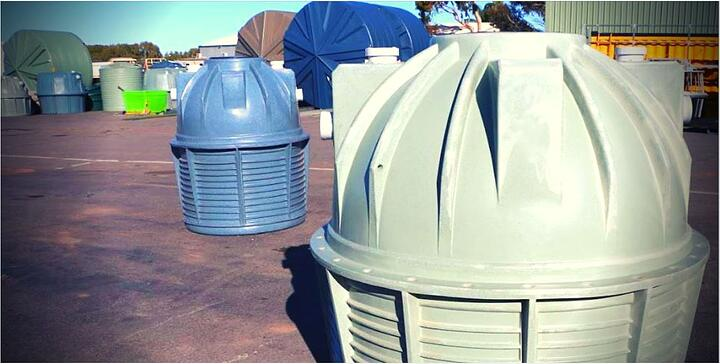 2 of Coercos poly septic tanks