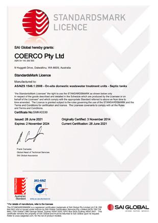 Standardsmark Licence